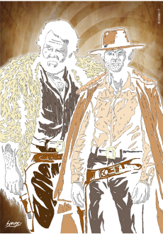 maglietta Bud Spencer e Terence Hill