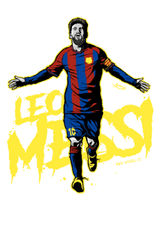 maglietta Football Club Legends #1: Leo Messi