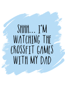 maglietta Crossfit Games with Dad