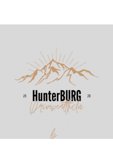 maglietta HUNTERBURG for kids Who loves Adventure