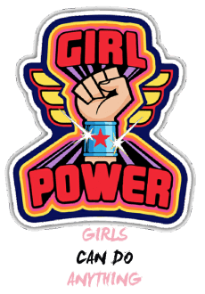 maglietta girl power