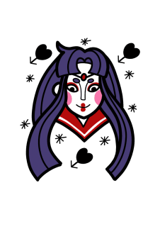 maglietta Old School Sailor Mars