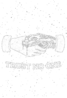 maglietta Trust No One