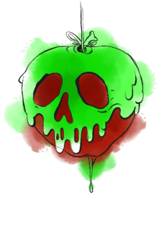 maglietta Poison Apple