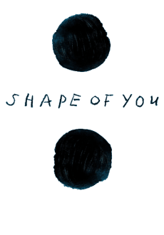 maglietta Ed Sheeran's ''Shape Of You'' inspired sweatshirr
