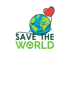maglietta Save the world