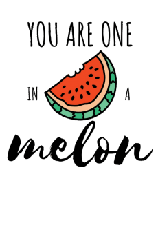 maglietta YOU ARE ONE IN A MELON