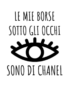 maglietta EYES CHANEL