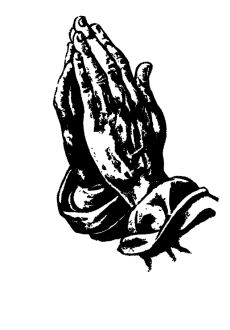 maglietta praying hands