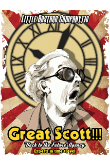 maglietta Great Scott!