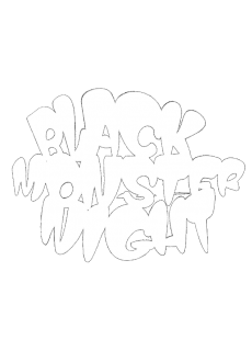 maglietta Black Monster NighT-Shirt