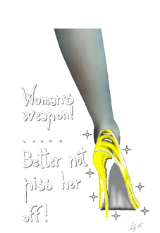maglietta Woman's Weapon