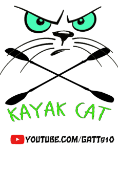 maglietta Kayak Cat Monster