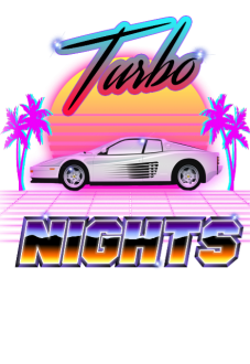 maglietta Turbo nights
