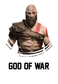 maglietta God Of War 4