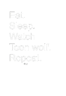 maglietta FELPA/T-SHIRT WATCH TEEN WOLF