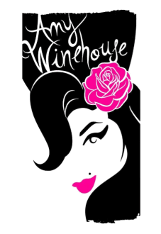 maglietta Amy Winehouse t-shirt