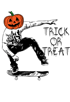 maglietta Trick or Treat