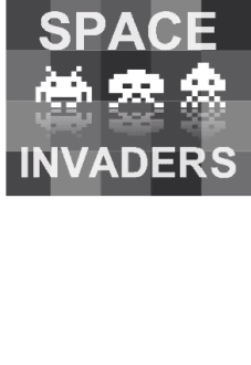 maglietta Space invaders