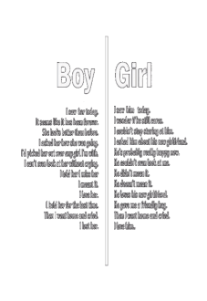maglietta Boy Vs Girl