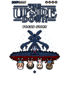 maglietta THE UPSIDE DOWN 8-BIT REVERSED