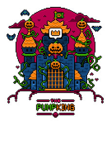 maglietta The PumpKING 8-bit