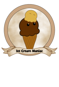 maglietta Ice Cream Maniac