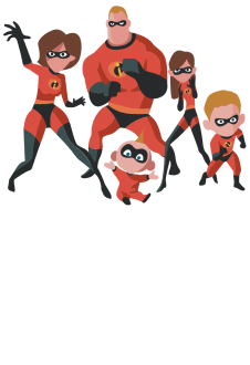 maglietta The Incredibles