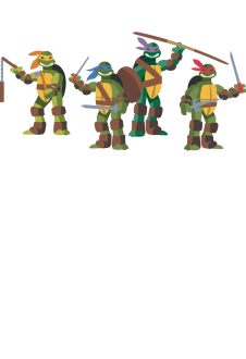 maglietta Teenage mutant ninja turtles