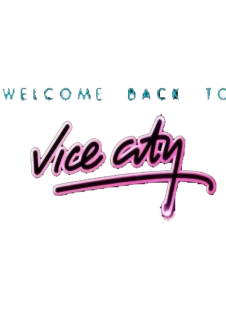 maglietta welcome to vice city
