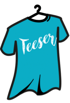 maglietta teeser your party t-shirt
