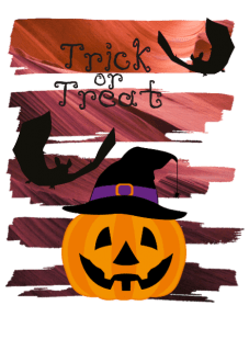 maglietta trick or treats!