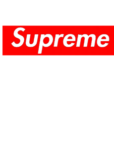 maglietta Fake Supreme Man