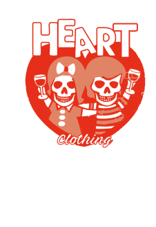 maglietta Heart Skull Drink Fleece