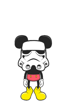 maglietta Mickey Mouse Tropper