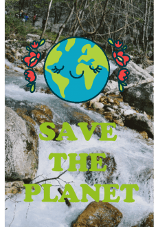 maglietta Save The Planet!!!!