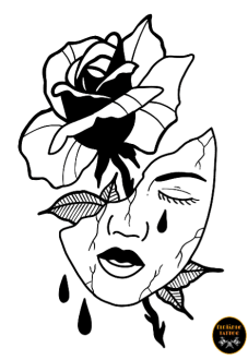 maglietta MASK AND ROSE
