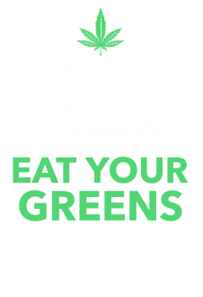maglietta KEEP CALM AND EAT YOUR GREENS