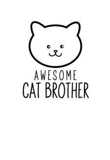maglietta cat brother