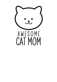 maglietta cat mom