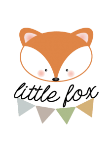 maglietta body my little fox da zero a 18 mesi