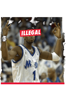 maglietta ILLEGAL - TRACY MCGRADY