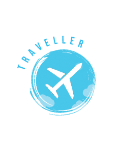 maglietta traveller love travel plane
