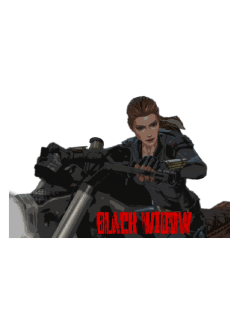 maglietta Black Widow