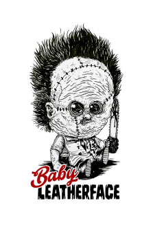 maglietta Baby Leatherface