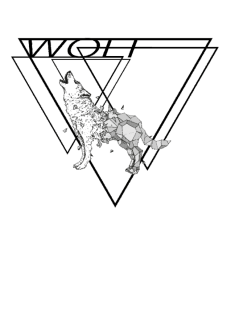 maglietta ANIMAL$ERIES 'Wolf'