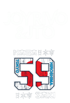 maglietta Joy Rivo & Jto Japan Tribute