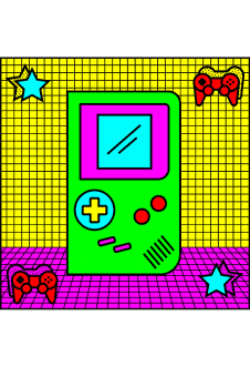 maglietta 90's Icons – Gameboy