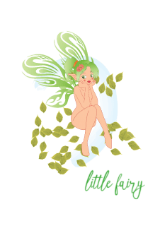 maglietta LITTLE FAIRY