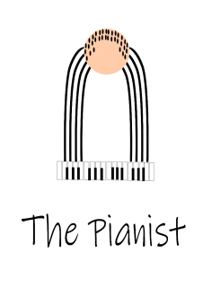 maglietta the pianist